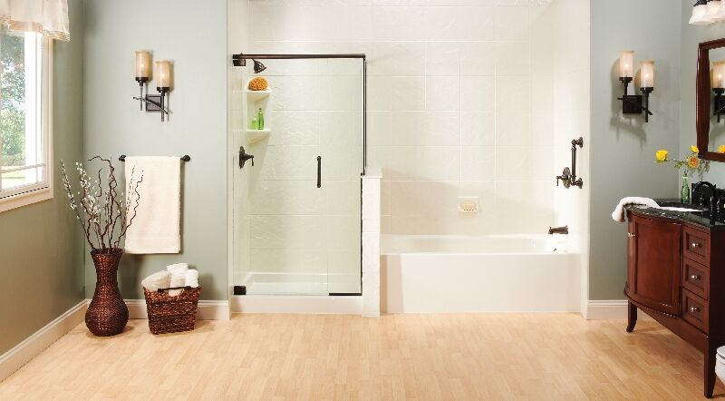 Bathtub and Shower Combination