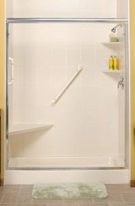 Corner Seat for Easier Showers
