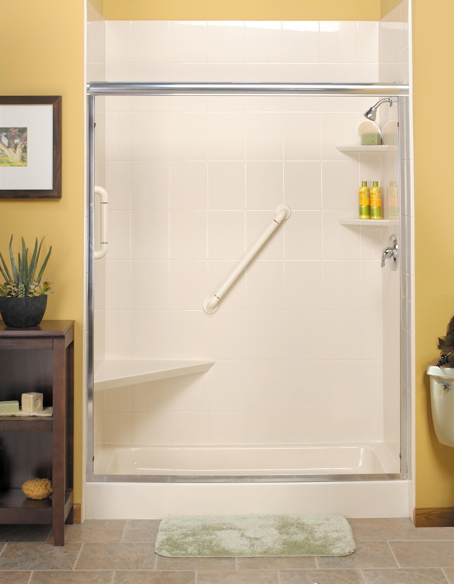 Deep shower base by Brad B&B Reglazing, Goderich