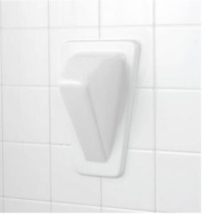 Foot Pedestal Shower and Bath Accessory