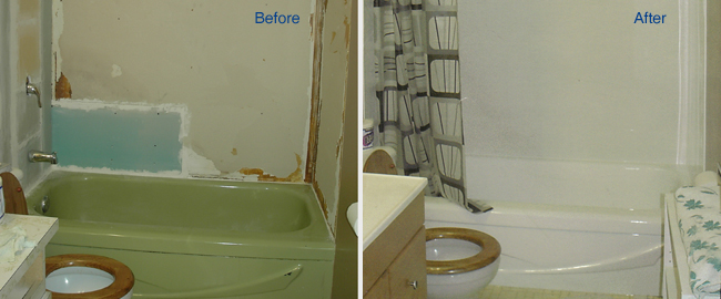 Make your Old Bathroom Modern by getting your Tub Reglazed