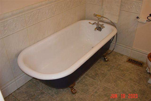 New Looking Tub After Reglaze