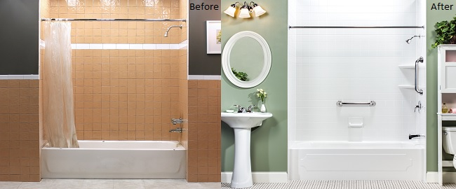 Replace your Bath Tub Liner to Easily change to Look of your Bathroom