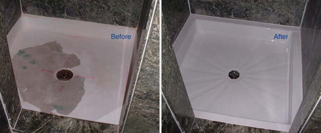 Replace your Shower Liner to get a new look Without the cost of Replacing your Whole Shower