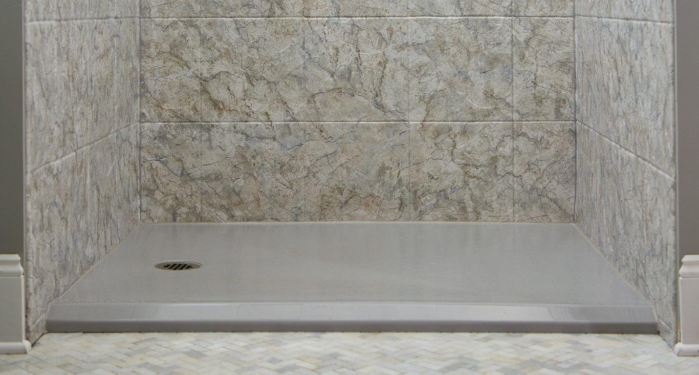 Shower Floor by Darren Pruden, Winnipeg Tub and Surround