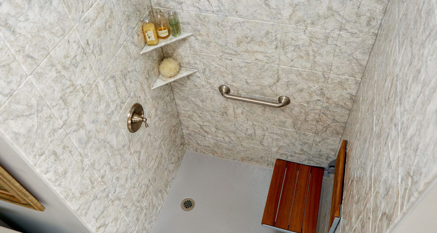 Top Down View of One of our Marble Finishes