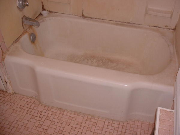 Tub Reglaze Before