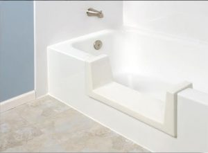 Walk Thru Tub for Easy Access to a Bath Tub